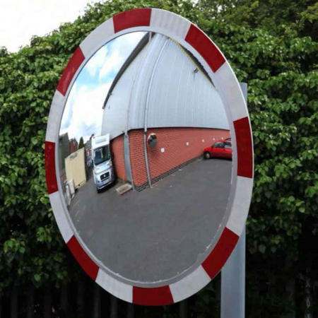 600mm Diameter Traffic Mirror