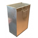 26 Litre Rectangular Galvanised Steel Liner