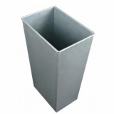 39 Litre Rectangular Galvanised Steel Liner