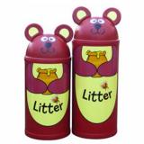 Animal Kingdom Bear Litter Bin