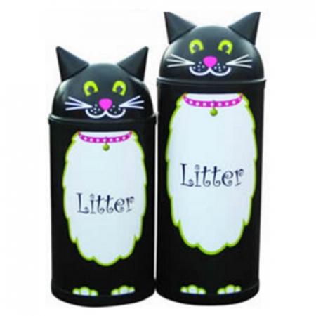 Animal Kingdom Cat Litter Bin