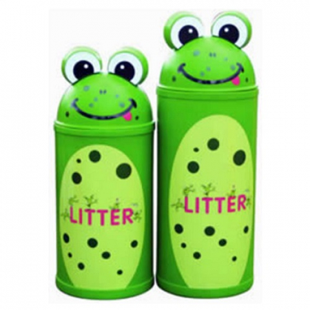 Animal Kingdom Frog Litter Bin