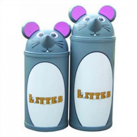 Animal Kingdom Mouse Litter Bin