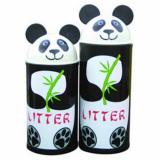 Animal Kingdom Panda Litter Bin