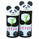 Animal Kingdom Panda Litter Bin