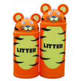 Animal Kingdom Tiger Litter Bin