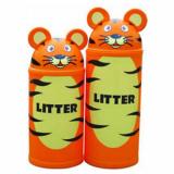 Animal Kingdom Tiger Litter Bin