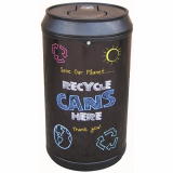 Drinks Can Recycling Bin - 90 Litre