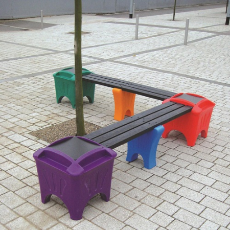 Modular Seating - Corner Shaped Bench