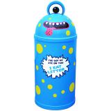 Monster Litter Bin - Blue