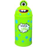 Monster Litter Bin - Green