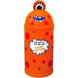 Monster Litter Bin - Orange