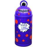 Monster Litter Bin - Purple