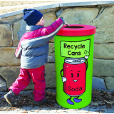 Popular Recycling Bin - 70 Litre