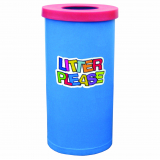 Popular Litter Bin - 70 Litre