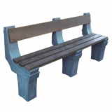 Wall Mountable Seat - 4 Seater