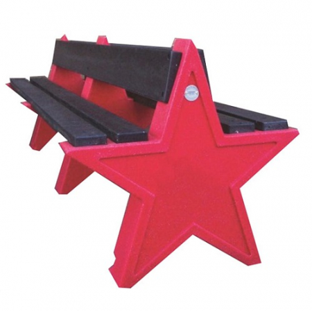 8 Seater Star Bench