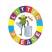 Twist Litter Bin with Frog Logo - 90 Litre