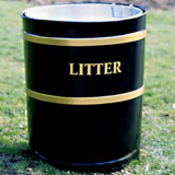 Knight Open Top Bin - 100 Litre Capacity