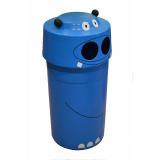 Hippo Animal Face Litter Bin - 90 Litre