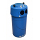 Hippo Animal Face Litter Bin - 90 Litre