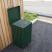 Anti-Vandal Square Litter Bin - 112 Litre Capacity