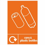 Cans & Plastic Bottles Perspex Plate