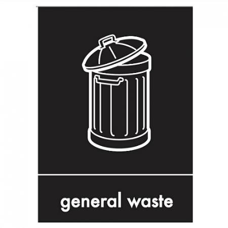 General Waste Artwork Buy Online From Bin Shop