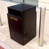 Barnsley Litter Bin - 112 Litre Capacity