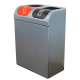Lute Double Internal Recycling Bin - 160 Litre