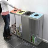 C-Bin Quad Recycling Bin