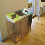 C-Bin Triple Recycling Bin