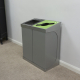 C-Bin Double Recycling Bin