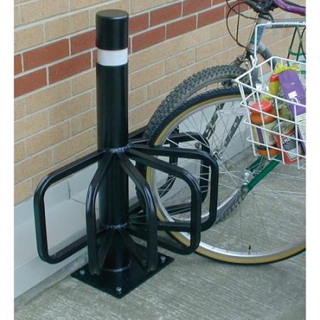 Six Station Cycle Rack