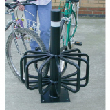 Twelve Station Cycle Rack