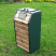 Timber Fronted Dog Waste Bin