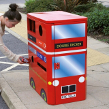Double Decker Bus Recycling Unit - 160 Litre