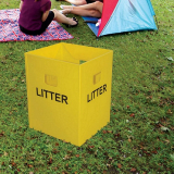 Flat Pakka Litter Bin - Pack of 10