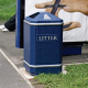 GFC Semi-Open Top Litter Bin - 112 Litre Capacity