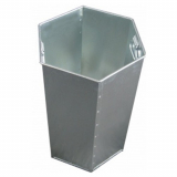 L14/INT 84 Litre Hexagonal Galvanised Steel Liner