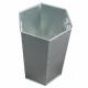 L14/INT 84 Litre Hexagonal Galvanised Steel Liner
