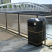 Middlesbrough Steel Litter Bin - 90 Litre