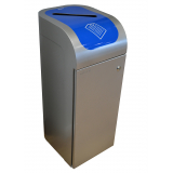 Lute Single Stream Recycling Bin - 80 Litre