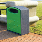 Mini Cyclo Dual Litter Bin - 224 Litre Capacity