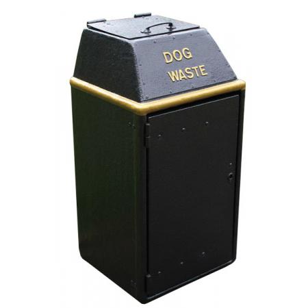 Large Capacity Dog Waste Bin With Chute