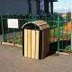 Wooden Litter Bin - 112 Litre
