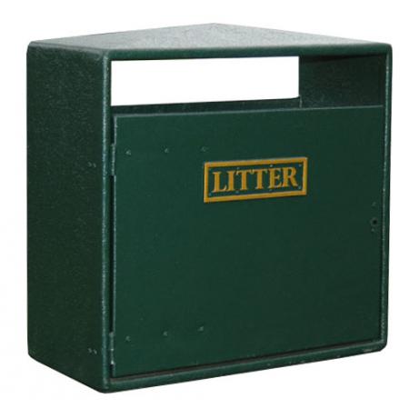 Double Never Rust Litter Bin - 224 Litre