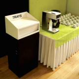 Tray Top Litter Bin - 80 Litre
