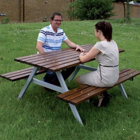 Iroko Hardwood Picnic Table