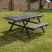Steel Wheelchair Friendly Picnic Table